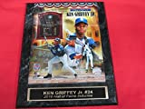 Mariners Ken Griffey Jr Engraved Collector Plaque w/8x10 Hall of Fame Photo