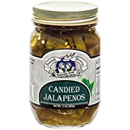 Amish Wedding Foods Candies Jalapeno Peppers 15oz Glass Jar