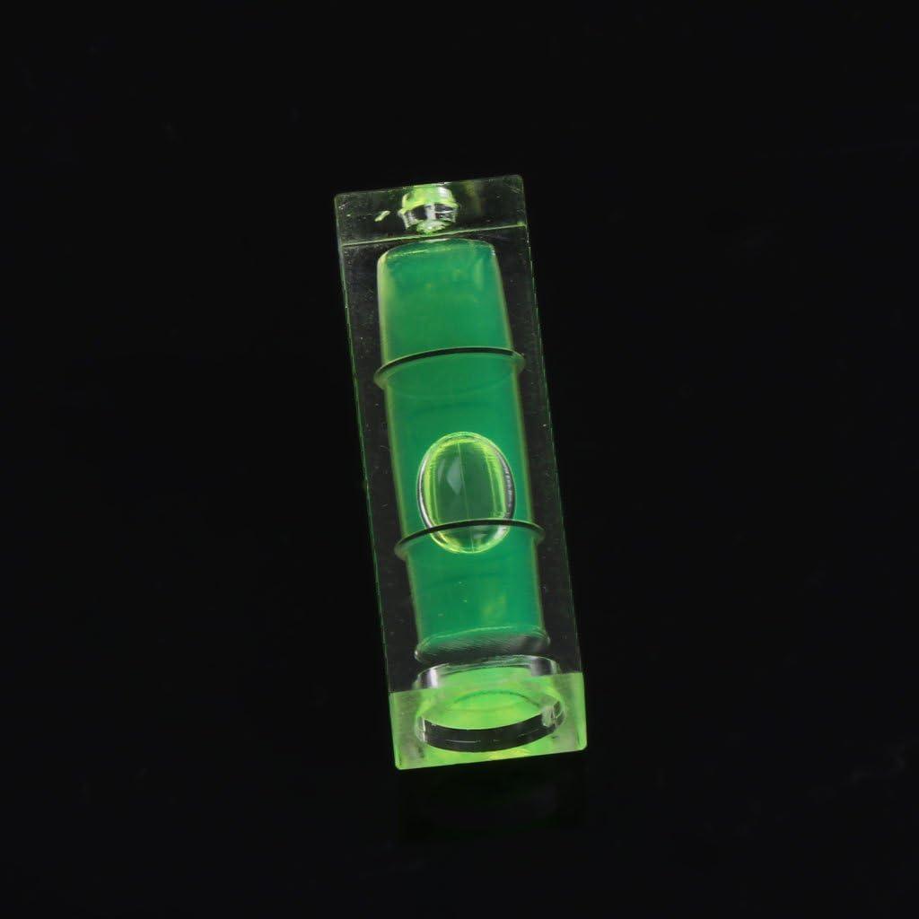 5 Pcs 10x10x29mm Universal VIAL Square Bubble Spirit Level Tripod Measuring Camera