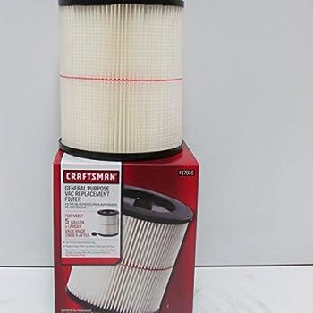 Sears Craftman Wet Dry 12 Amp 16 Gallon Vacuum Filter