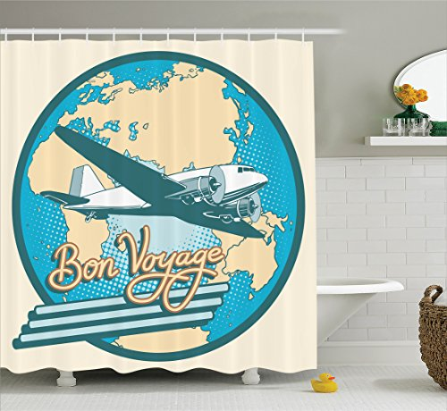 Ambesonne Airplane Collection Australia Polyester product image