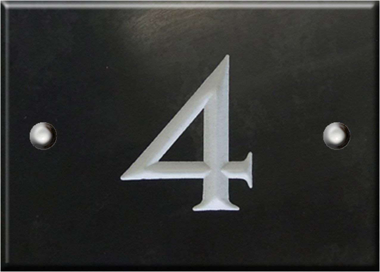 selezionare il numero qui 1 su 99 - Numeri 3 Ardesia numero civico