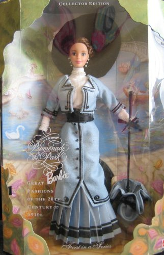 Promenade in The Park Barbie Doll Collector Edition – Great Fashions of 20th Century 1910's – 1st in Series (1997), Baby & Kids Zone