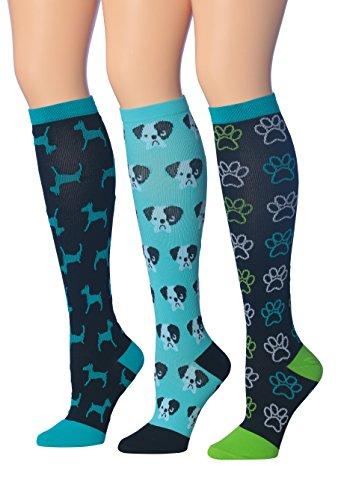 Patterned Knee Sock - 4