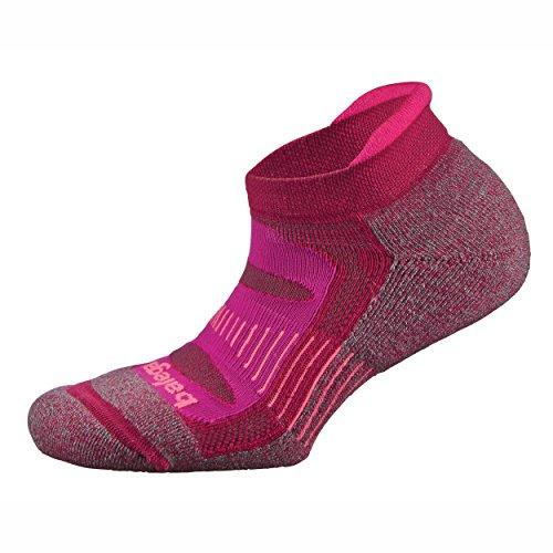 Balega Blister Resist No Show Running Socks For Men and Women (1 Pair), Fuchsia, ()