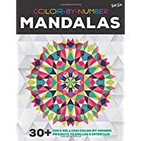 Color-By-Number: Mandalas: 30+ Fun & Relaxing Color-By-Number Projects to Engage & Entertain