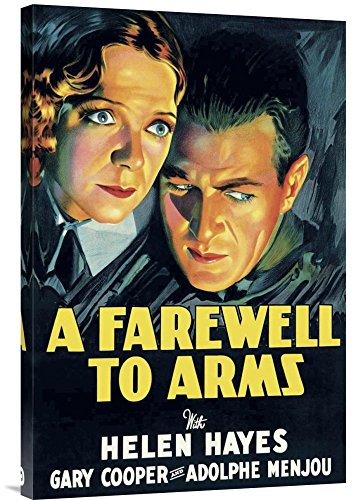 Art on a Budget GCS-449816-2030-142'Unknown Vintage Film Posters: Farewell To Arms' Gallery Wrap Giclee on Canvas Wall Art...