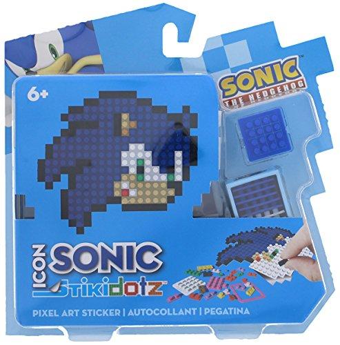 STiKidotz 3D Pixel Art Set with Icon Sonic design Sonic by STiKidotz