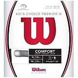 Wilson(ウイルソン) テニス ストリング ガット KEI'S CHOICE PREMIER (ケイズチョイスプレミア) III/IV [ハイブリッド]