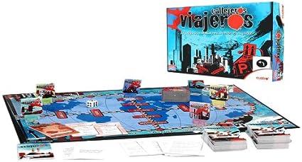 Falomir 646507 - Juego Callejeros Viajeros: Amazon.es: Juguetes y juegos