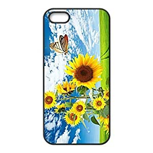 Custom Butterfly Back Cover Case for iphone5,5S JN5S-506