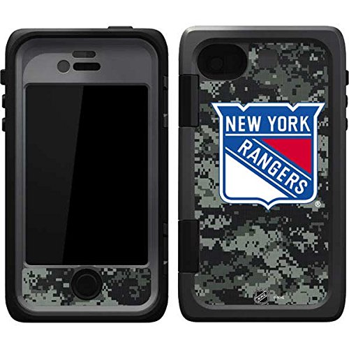 Skinit New York Rangers Camo OtterBox Armor iPhone 4&4s Skin for CASE - Officially Licensed NHL Skin for Popular Cases Decal - Ultra Thin, Lightweight Vinyl Decal Protection (New York Rangers Iphone 4 Case)