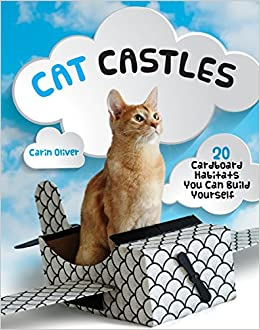 Cat Castles Cardboard Habitats You Can Build Yourself Carin - This company makes cardboard tanks houses and planes for cats and theyre perfect