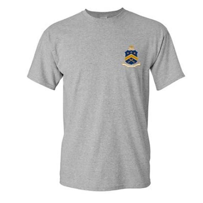 Amazon Pi Kappa Phi Crest Front Greek Letters Back Tshirt