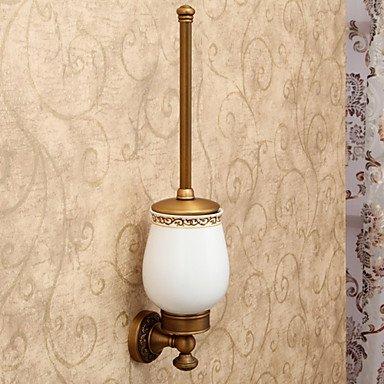 WYFC Antiguos magníficos accesorios de baño incluido Cepillo de dientes y cepillo de baño Copa