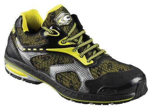 Cofra 19090-000 - Seguridad palmarés nueva trotar altamente transpirables zapatos s1p, tamaño 42, amarillo,