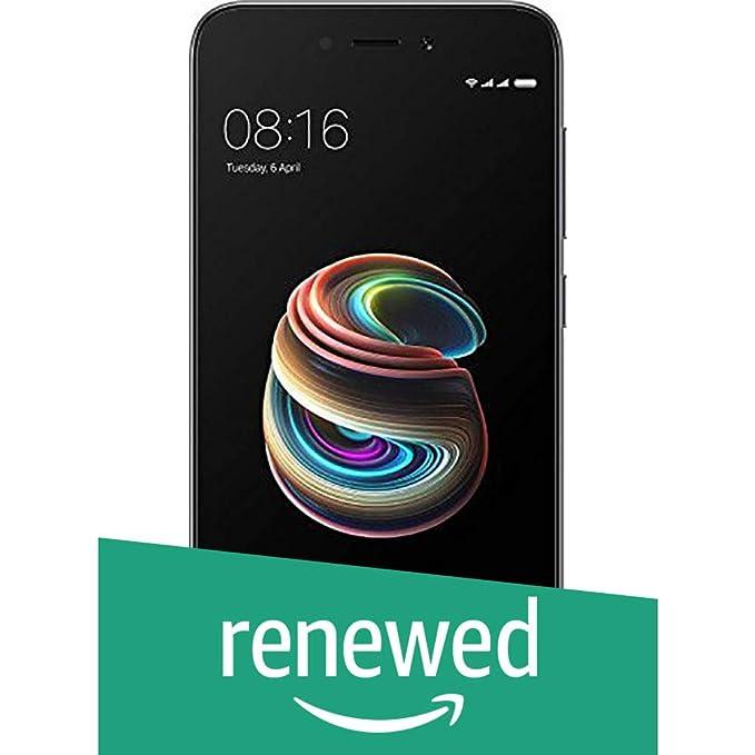 Renewed  Xiaomi Redmi 5A Android Dual Sim Smartphone 2GM/16 GB  Grey  Smartphones