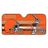 NFL Cleveland Browns Universal Auto Shade, Large, Orange
