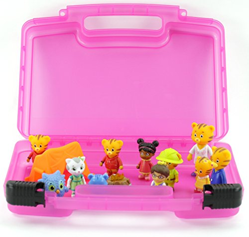 [Life Made Better Toy Storage Organizer. Fits Up To 30 Mini Figures. Compatible With Daniel Tiger's Neighborhood Friends TM And] (Daniel Tiger Deluxe Costumes For Toddlers)