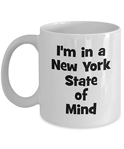 Amazon New York State Of Mind Mug