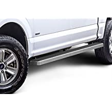 "iBoard Running Boards 4"" Fit 15-17 Ford F-150 SuperCrew Cab Nerf Bar Side Steps Tube Rail Bars Step Board"