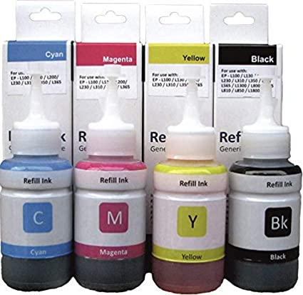 Korean - Jet Refill Ink for Epson L3110, L3150 Printer
