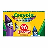 Crayola 96 Crayons, School and Craft Supplies, Gift for Boys and Girls, Kids