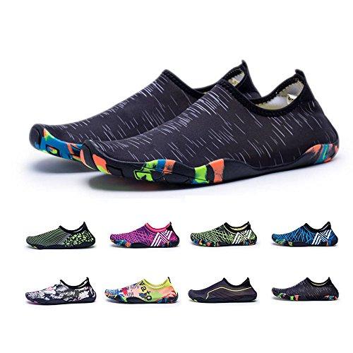 for Sports Shoes Flats Swim Flexible Women Black2 Water Quick Barefoot Kids YUTUTU Men Shoes Dry Beach vnaPqxT