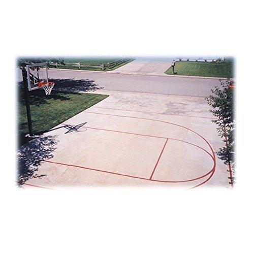 (First Team Basketball Court Stencil Kit)