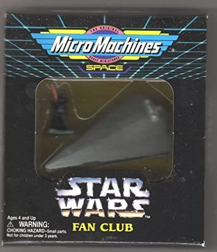 MICRO MACHINES STAR WARS IMPERIAL STAR DESTROYER WHITE ENGINE