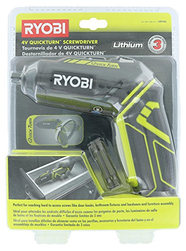 (Ryobi HP44L 4V Lithium 200 / 600 RPM Quickturn Screwdriver w/ Charger)