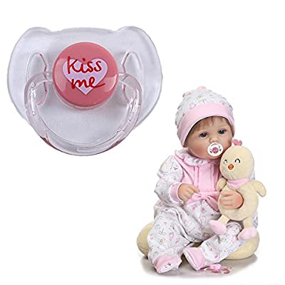 Stylishbuy Reborn Baby Dolls Accessories Magnetic Pacifier: Home & Kitchen