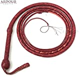 BULL WHIP 12 Feet 12 Plaits Cow Hide Leather CUSTOM BULLWHIP Belly and Bolster Construction