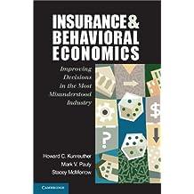 Insurance and Behavioral Economics