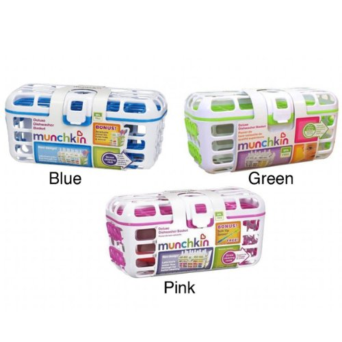 munchkin Deluxe Dishwasher Basket colors