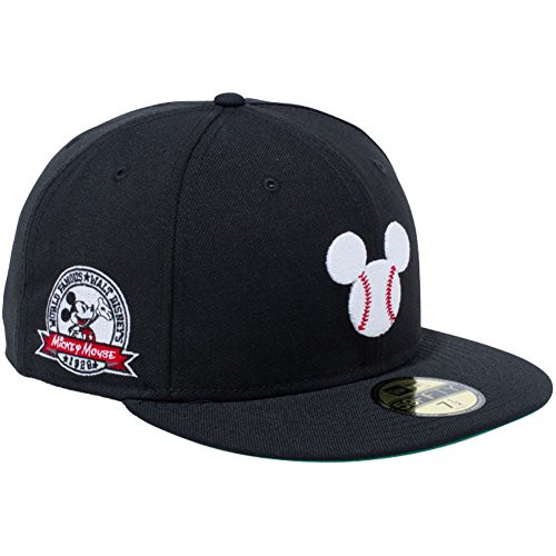 ニューエラ NEW ERA 帽子 5950 DISNEY MICKEY BALL キャップ ブラック 7 1/2