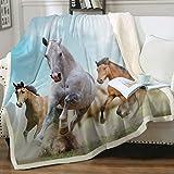Sleepwish Galloping Horse Super Soft Fleece