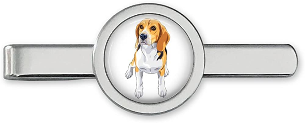 Beagle Tie Clip Beagle Tie Bar Dog Cufflinks Accessories