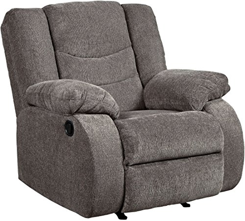 Signature Design by Ashley 9860625 The The Tulen Recliner, Gray