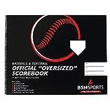 Score Right MCBIGBOK Baseball/Softball Scorebook, Oversized