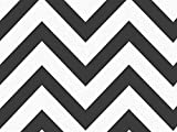 BLACK WIDE CHEVRON STRIPE240~20''x30'' Sheets Recycled (1 unit, 240 pack per unit.)