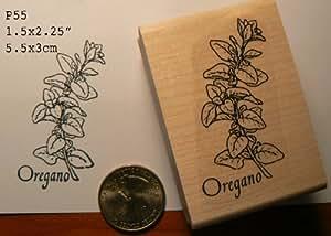 Oregano herb rubber stamp wm p55 arts crafts for Rubber stamps arts and crafts