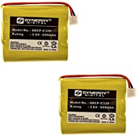 AT&T-Lucent 3301 Cordless Phone Battery Combo-Pack includes: 2 x SDCP-C320 Batteries