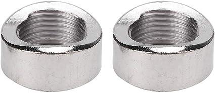 Oxygen Sensor Nut Bung 2 StÜcke Oxygen Sensor Curve Nut Bung M18 X 1 5 Gewinde Edelstahl