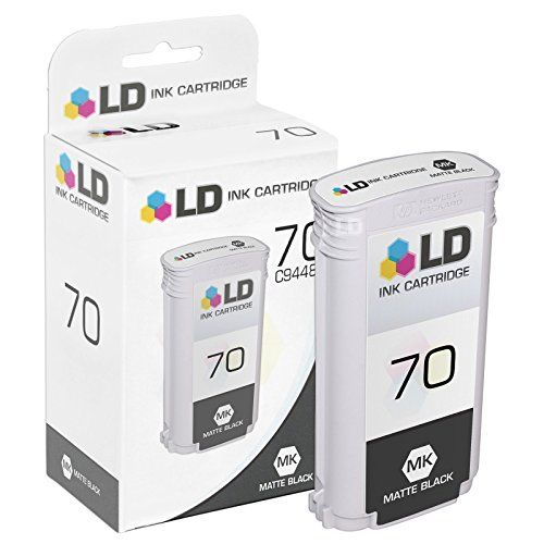 LD Remanufactured Ink Cartridge Replacement for HP 70 C9448A (Matte ()