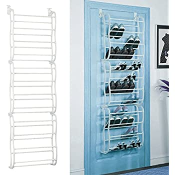 Fits Over Standard Size Doors, 12 Shelves Design, Holds Sneakers, Heels,  Sandals, Low Boots. Shelf Closet Wall Hanging Organizer Storage Shoe Stand