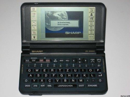 Zaurus ZR 5000 Personal Electronic Organizer