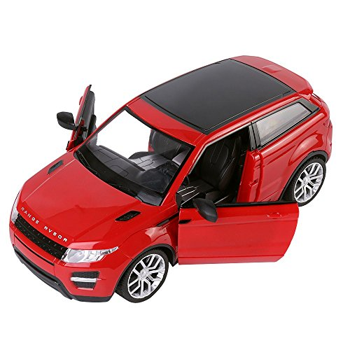 Amazon.com: XmasToys Red RC Sports Car All-Terrain Utility SUV Coupe Remote Control Cars Classic Scale 1:14 with Sound Flash Light: Toys & Games