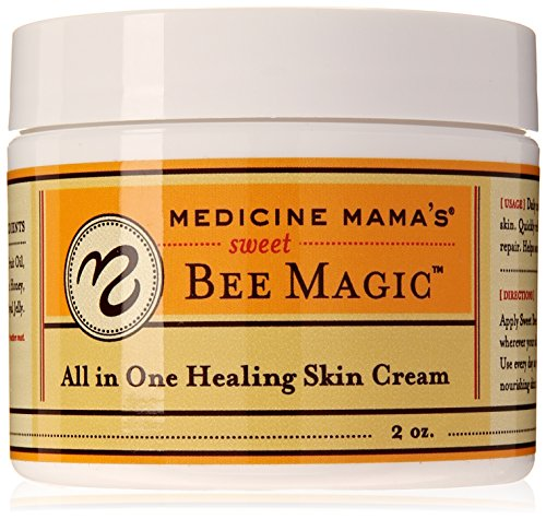 Medicine Mama's Apothecary Sweet Bee Magic All in One Healing Skin Cream, 4 Ounce ()