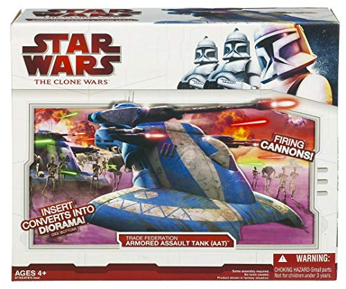 Trade Federation Armored Assault Tank - Star Wars Clone Wars Star fighter Vehicle - AAT Trade Federation Tank